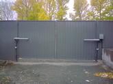 Электропривода для распашных ворот своими руками